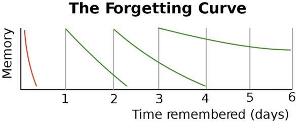 Curva de esquecimento