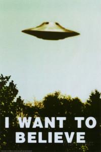 """""""Eu quero acreditar"""""""
