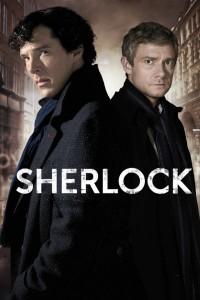 Cartaz da série Sherlock da BBC